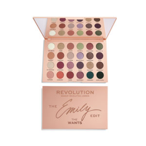 Makeup Revolution x The Emily Edit The Wants Palette