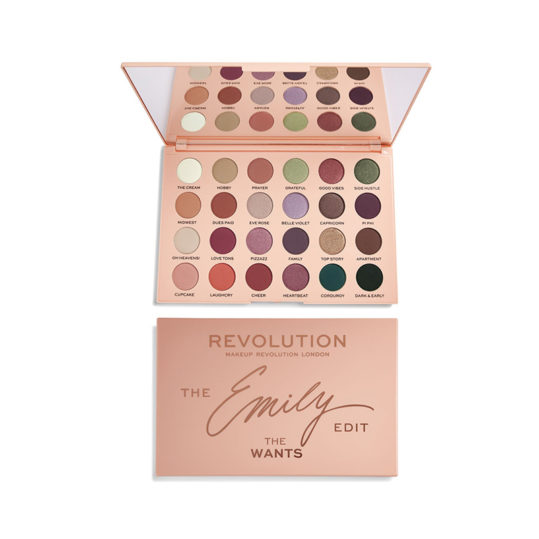 Makeup Revolution x The Emily Edit The Wants Palette
