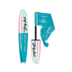 L'Oreal Miss Baby Roll Mascara Teal Blue