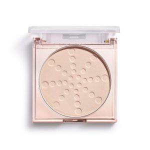 πούδρα σεταρίσματος Makeup Revolution Bake & Blot Lace