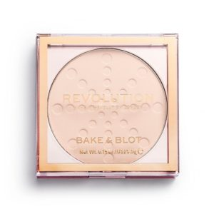 setting powder Makeup Revolution Bake & Blot Lace