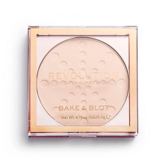 setting powder Makeup Revolution Bake & Blot Lace