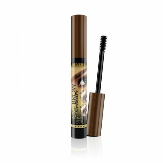 Μάσκαρα Φρυδιών Revers Eyebrow Corrector 3in1 Henna Mascara 02