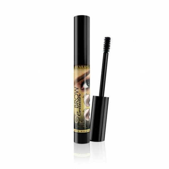 Μάσκαρα Φρυδιών Revers Eyebrow Corrector 3in1 Henna 03