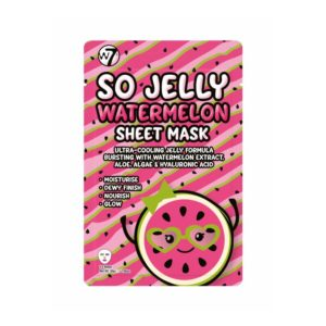 Μάσκα προσώπου W7 So Jelly Watermelon Sheet Mask