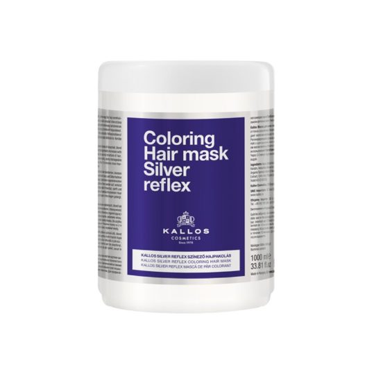 Μάσκα μαλλιών Kallos Silver Reflex Hair Mask 1000ml