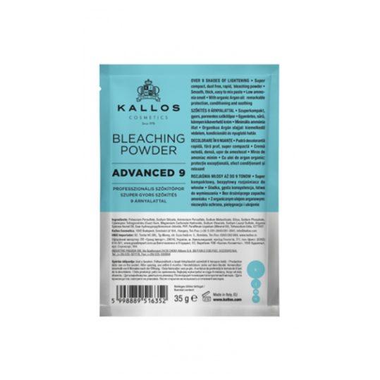 Σκόνη Ντεκαπάζ Kallos Advanced 9 Professional Bleaching Powder 35 gr