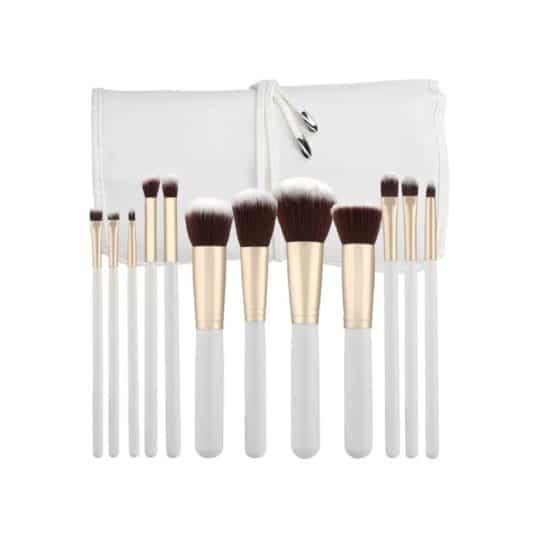 Σετ Πινέλων Tools For Beauty Kabuki 12pcs Brush Set White