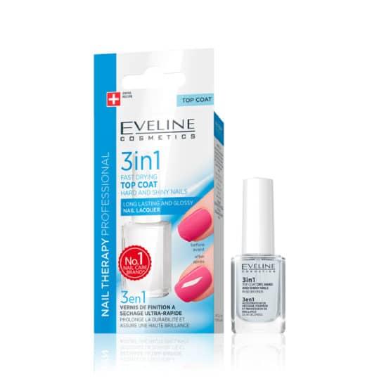 Θεραπεία Νυχιών Eveline Nail Therapy Hard & Shine