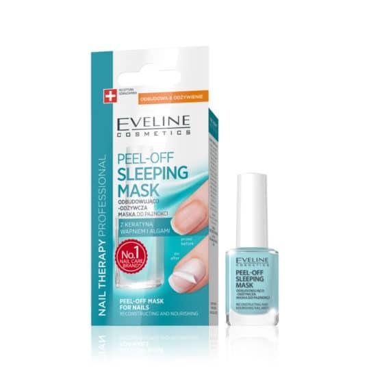 Θεραπεία Νυχιών Eveline Nail Therapy Peel Off Sleeping Mask