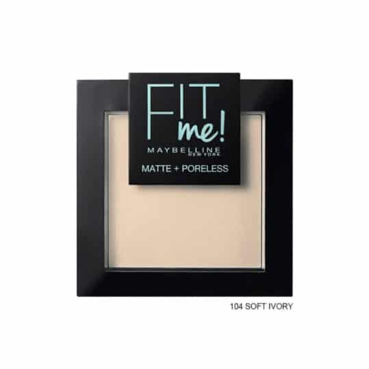 Maybelline Fit me Matte + Poreless Pressed Powder 104 Soft Ivory