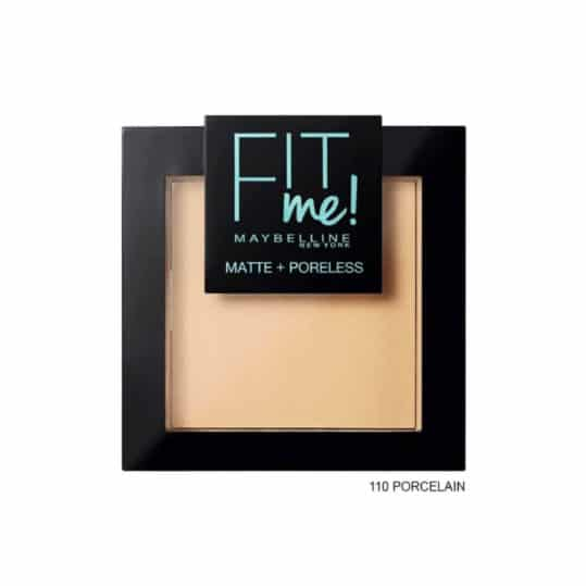 Maybelline Fit me Matte + Poreless Pressed Powder 110 Porcelain