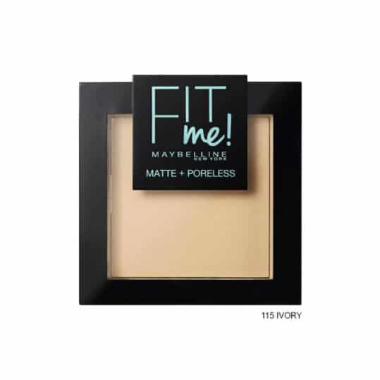 Maybelline Fit me Matte + Poreless Pressed Powder 115 Ivory