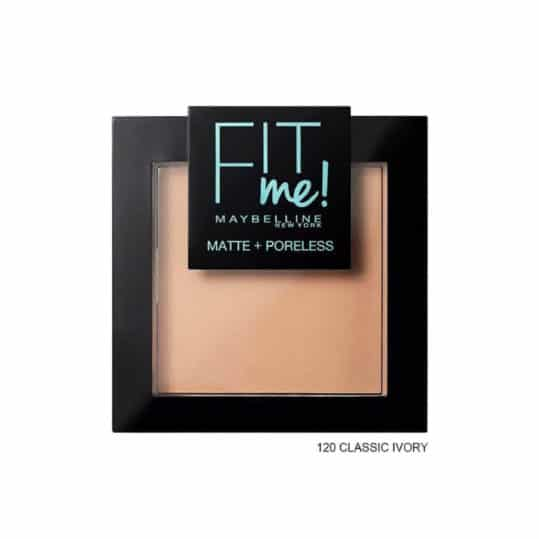 Maybelline Fit me Matte + Poreless Pressed Powder 120 Classic Ivory