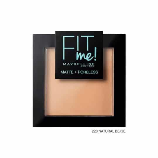 Maybelline Fit me Matte + Poreless Pressed Powder 220 Natural Beige
