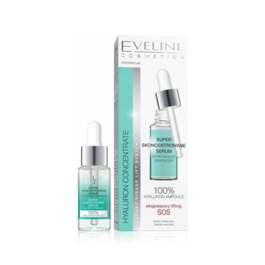Eveline Hyaluron& Collagen Super Concentrated Serum 18ml