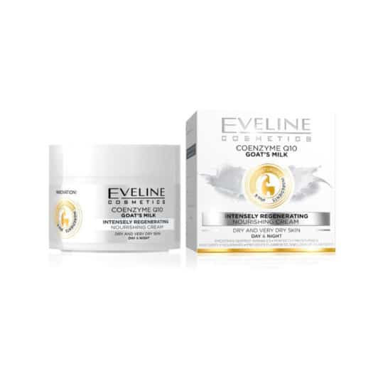 Eveline Coenzyme Q10 Goat's Milk Nourishing Regenerating Cream