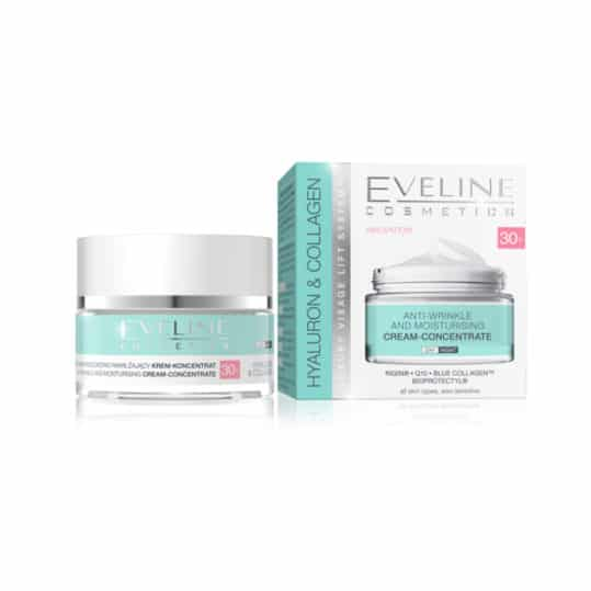 Eveline Hyaluron Collagen Anti-Wrinkle & Moisturizing 30+