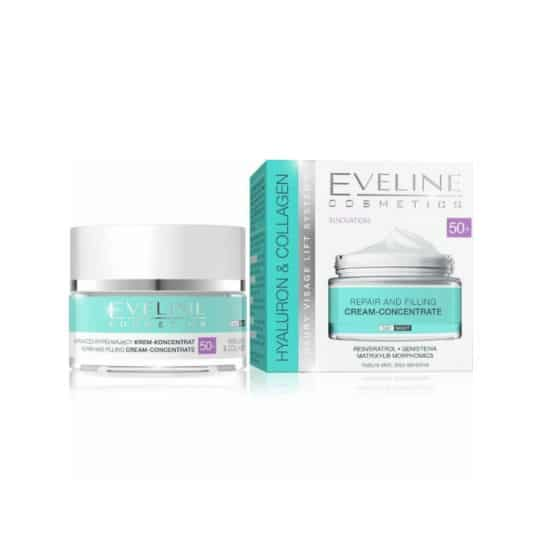 Eveline Hyaluron Collagen Anti-Wrinkle & Moisturizing 50+