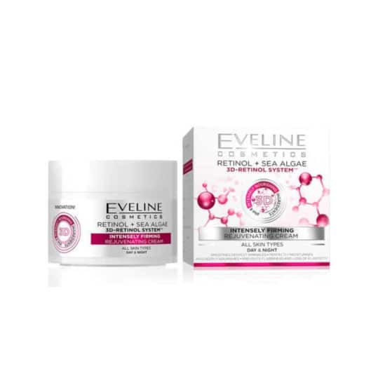 Eveline 3D Retinol & Sea Algae Firming Rejuvenating Cream