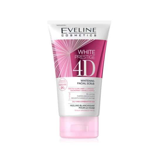 Eveline White Prestige 4D Whitening Facial Scrub