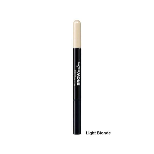 Maybelline Brow Satin Eyebrow Pencil Duo 00 Light Blond