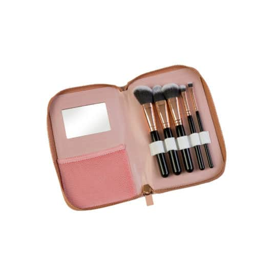 Royal Cosmetic Connections Rose Gold Glam Brush Set