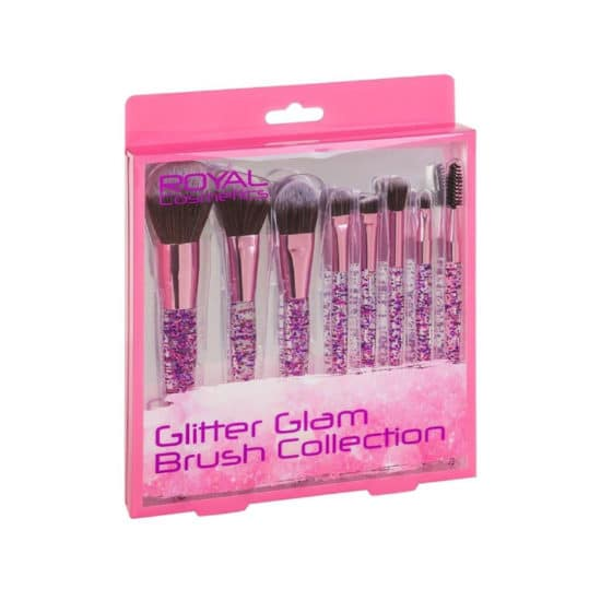 Royal Glitter Glam Brush Collection