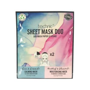 Μάσκα Προσώπου Technic Calming & Moisturizing Sheet Mask Duo