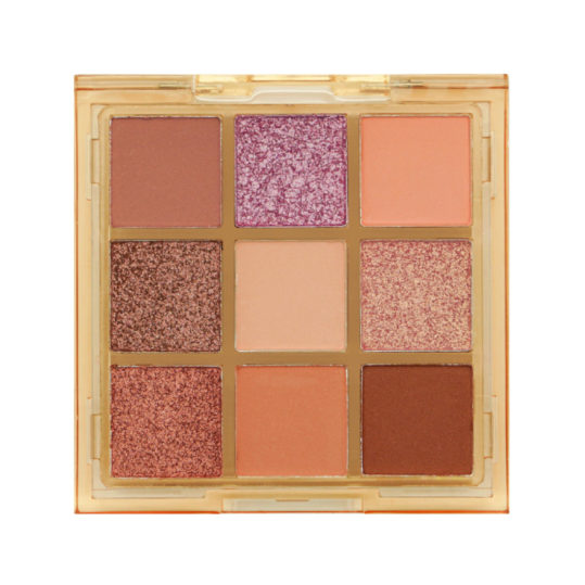 W7 Bare All Pressed Pigment Palette Exposed