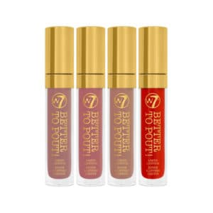 W7 Better to Pout! Liquid Lipstick Set