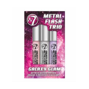 W7 Metal Flash Trio Galaxy Glam Metallic Glitter Eyeliner