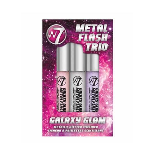 W7 Metal Flash Trio Galaxy Glam Metallic Glitter Eyeliner
