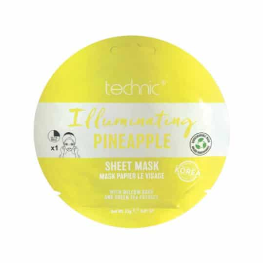 Technic Illuminating Pineapple Sheet Mask