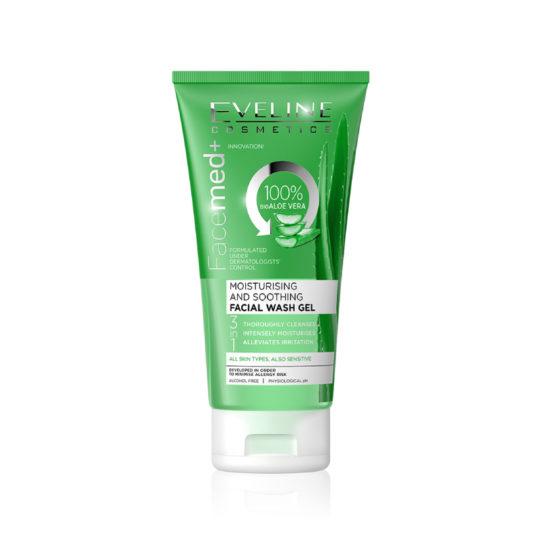 Eveline Aloe Vera Facial Wash Gel