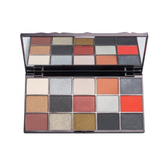 Makeup Revolution Glass Black Ice Eyeshadow Palette