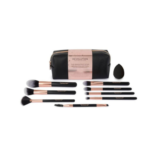 Makeup Revolution The Brightest Star Brush Collection