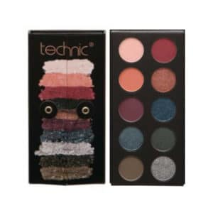 Παλέτα σκιών Technic Bejeweled Eyeshadow Palette