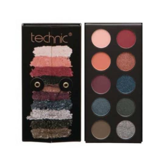 Παλέτα σκιών Technic Bejeweled Eyeshadow Palette