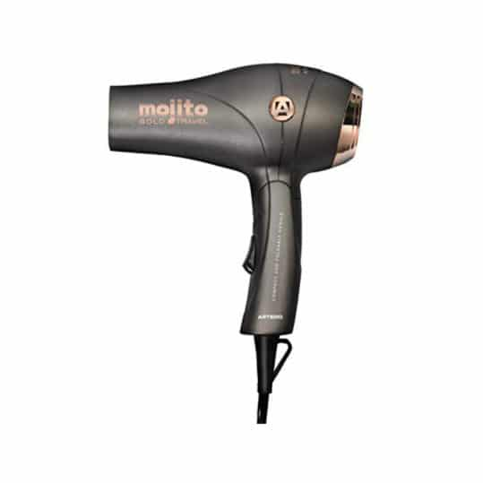 Artero Mojito Gold Travel Mini Hairdryer