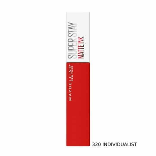 Maybelline Superstay Matte Ink Liquid Lipstick 320 Individualist