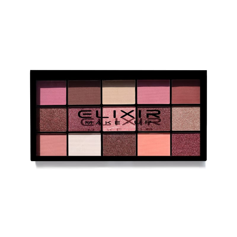 Elixir Pink Bloom Eyeshadow Palette