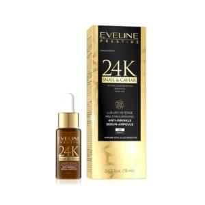 Eveline 24K Anti Wrinkle Multinourishing Serum 18ml