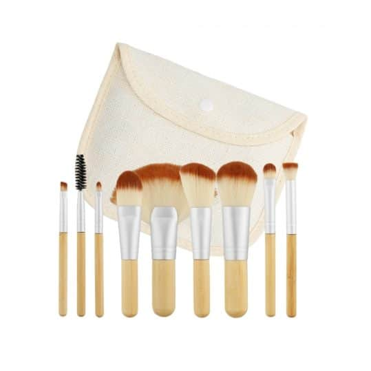 Tools For Beauty Bamboo 10pcs Brush Set