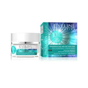 Eveline Hyaluron Clinic Rich Overnight Cream Mask 50ml