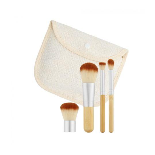 Tools For Beauty Bamboo 4pcs Brush Set