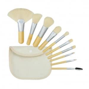 Tools For Beauty Bamboo White 10pcs Brush Set