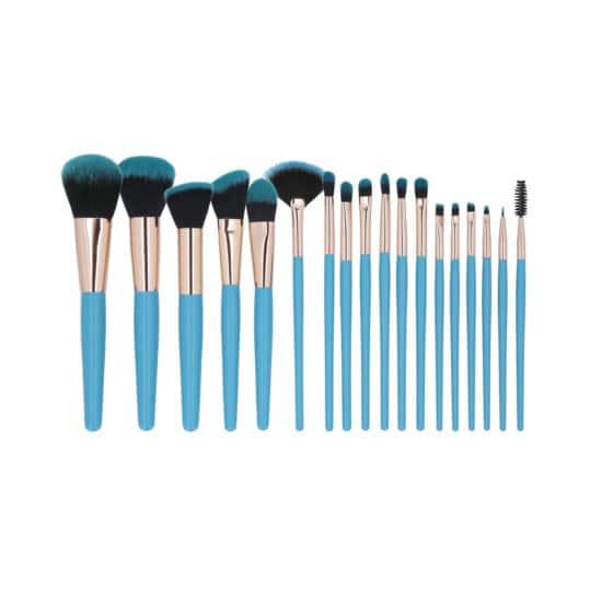 Tools For Beauty Blue 18pcs Brush Set