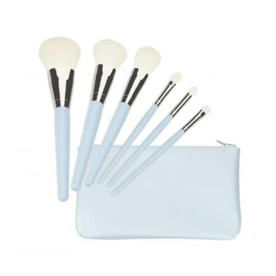 Tools For Beauty Blue 6pcs Brush Set