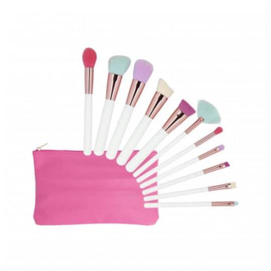 Tools For Beauty Multicolor 11pcs Brush Set